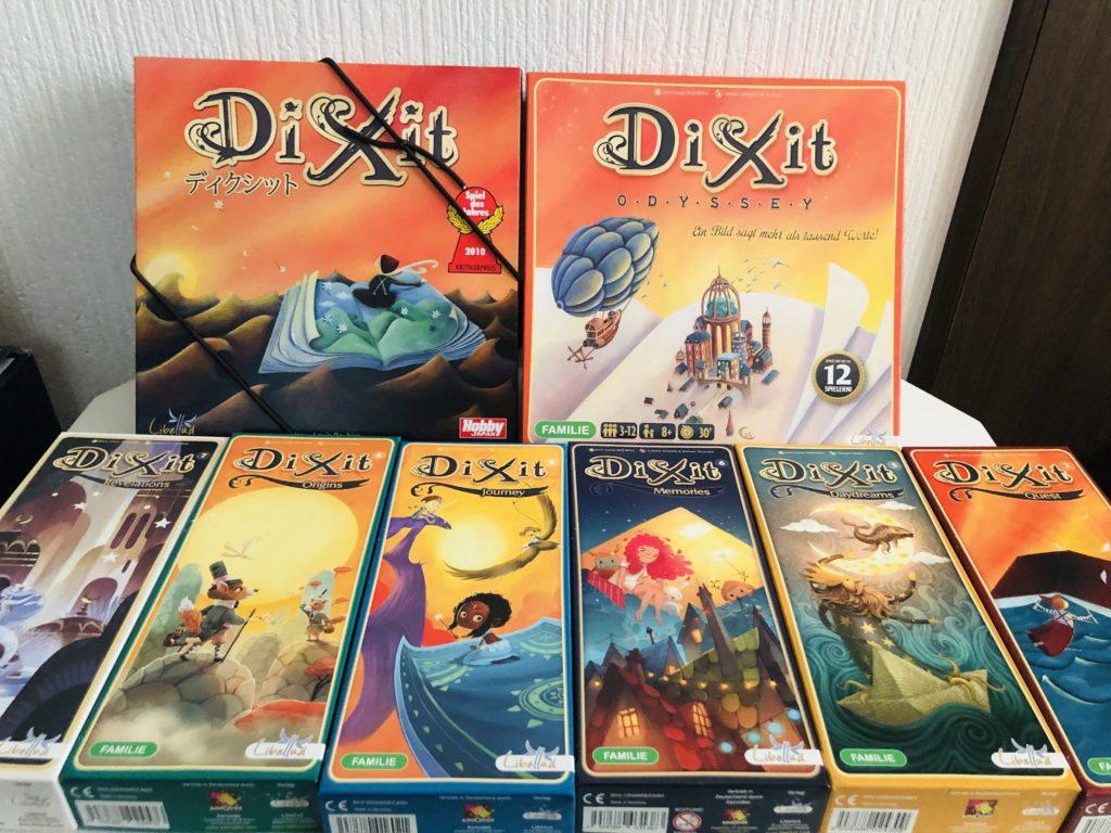 ボードゲーム『ディクシット』の全拡張画像
