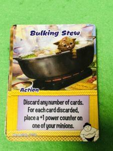 スマッシュアップ拡張のづ相撲陣営のカードの1つ。ちゃんこ鍋のイラスト